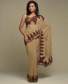 Indian sari...great fall color