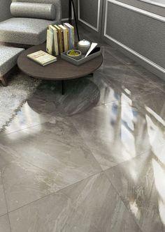 Ceramic floor tile: marble look - TITAN 60x60 - ArchiExpo