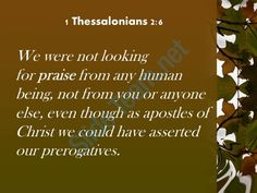 1 thessalonians 2 6 we could have asserted our prerogatives powerpoint church sermon Slide03 http://www.slideteam.net/