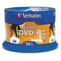 Introducing DVDR Disc 47 GB 16x White 50Pk. Great product and follow us for more updates!