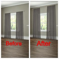 How To Properly Hang Drapes  Too often homeowners or apartment dwellers tend to fall into the same decorating trap: hiding their lovely win...