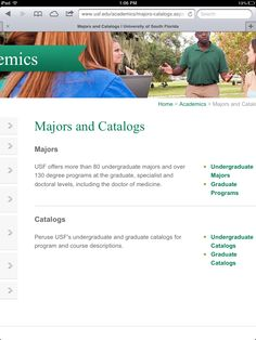 images about usf college on pinterest   university of south    health program  usf college  web site  website  internet site  site