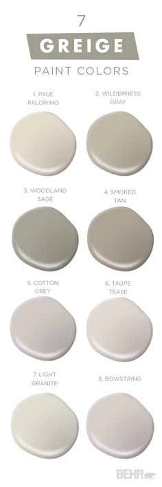 "You can never have too much of a good thing with this collection of classic neutral paint colors from BEHR. Embrace ""Greige,"" and mixture of gray and beige, in your home and see what a fresh coat of paint can do for you. The experts at BEHR can help you pick and choose from thousands of high-quality paint to create a color palette that perfectly reflects your unique sense of style."