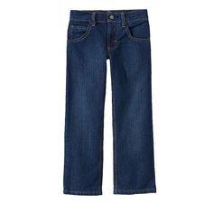 Boys 4-7x Lee Tough Max Straight Jeans, Boy's, Size: 7 Slim, Blue