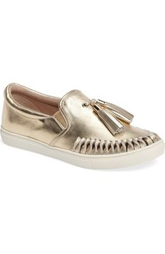 98c791b40 JSlides Cheyenne Tasseled Slip-On Sneaker (Women) available at  Nordstrom  Leather Slip