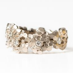 Wide #Crown #Ring by Mirri Damer http://www.fldesignerguides.co.uk/engagement-ring-designer/mirridamer