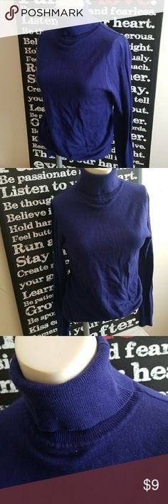 🎈5 for $15🎈F21 TURTLENECK SWEATER Blue-ish purple color. Great condition. Needs lint rolled which I will do   🎈5 for $15🎈- Bundle any 5 items marked 5 for $15 and offer $15!  Also CHECK OUT my  🦄5 for $15🦄, 💋3 for $24💋 🦄3 for $50🦄 &♥️10 for $10♥️ SALE!  Why SHOP MY Closet? 💋Smoke/ Pet Free 💋OVER 1000 🌟🌟🌟🌟🌟RATINGS 💋POSH AMBASSADOR &TOP 10% Seller  💋TOP RATED 💋 FAST SHIPPER   💋BUNDLES DISCOUNT 💋EARN VIP DOLLARS W/ EVERY PURCHASE ❤HAPPY POSHING!!! 💕 Forever 21 Sweaters…