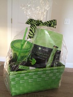 It Works Giveaway Basket! Enter on our Facebook page : It Works with 2 Crazy Wrap