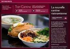 Tran Cantine: lanouvelle cantine vietnamienne - La Presse+ Totalement, Restaurant, Pork, Beef, Modern Asian, Canteen, Baby Born, Kale Stir Fry, Meat