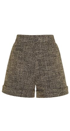 Short en tweed