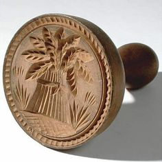 wheat butter stamp