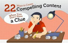 Infographic: 22 ideas for creating irresistible content | Articles | Main