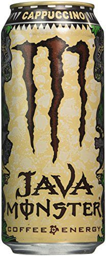 News Java Monster Coffee Energy Drink, Cappuccino, 15 Ounce (Pack of 12)   buy…