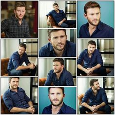 ~ † Scott Eastwood † Credit  By @Drewsmom0305 ScottEastwoodWorld.Twitter † Chris Pratt, Chris Evans, Clint And Scott Eastwood, The Longest Ride, Poses For Men, Father And Son, Cute Puppies, Actors & Actresses, Snapchat