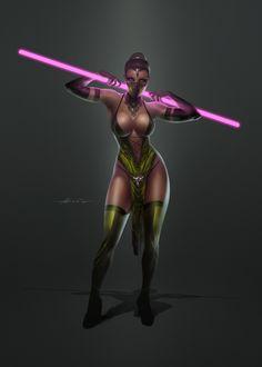 Jade - Mortal Kombat - Abraao Lucas