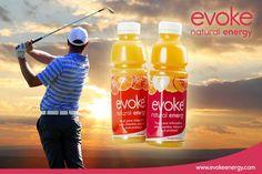 Evoke Blog: Evoke for Golf - Join the Club Natural Energy, Drink Bottles, Join, Club, Drinks, Drinking, Beverages, Drink, Beverage