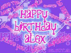 ... Happy Birthday Dear Alex, happy bday to you @Alex Everdeen !! Best wishes always.