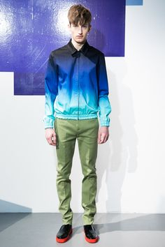 London Collection Mens: Jonathan Saunders Fall 2013