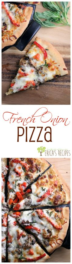 French Onion Pizza from EricasRecipes.com