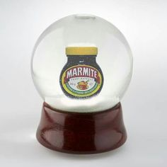 Marmite, Snow Globes, Jar, Winter Wonderland, Lovers, Food, Meal, Essen, Jars