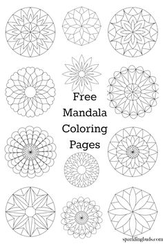 Free Coloring Pages Mandala. 30 Free Coloring Pages Mandala. Mandala From Free Coloring Books for Adults 23 Mandalas Image Mandala, Mandala Dots, Flower Mandala, Mandala Pattern, Mandala Art Lesson, Mandala Drawing, Mandala Painting, Mandala Coloring Pages, Coloring Pages To Print