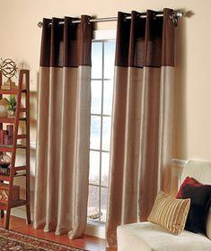 Two-Tone Luxury Curtain                                                                                                                                                                      $9.95 each