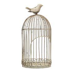 Dekofiguren & Wanddeko - Vogelkäfig Bird - 798.303.6