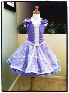 Charlotte-Rose Princess Dress kids costume sewing PDF pattern tutorial for girls and toddlers. $9.99, via Etsy.