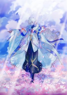 Merlin Fate Hot Anime Guys, All Anime, Anime Boys, Elf Art, Fate Characters, Fate Anime Series, Comic Pictures, Fate Zero, Type Moon