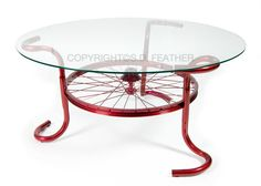 Now that I'm done riding my bike ltets recycle it into a Sprint Coffee Table