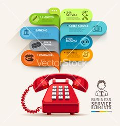 business service icons and telephone with bubble speech template. can be used for workflow layout diagram number options step up options web design banner template infographics. Business Flyer, Online Business, Call Logo, Online Insurance, Concert Flyer, Banking Services, E Learning, Brand Fonts, Infographic Templates