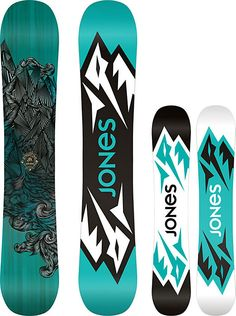 Jones Mountain Twin Snowboard - Men's - Snowboarding - 2015