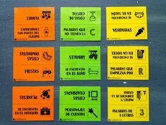 ProfeDeELE.es: Fichas de categorías para trabajar el vocabulario