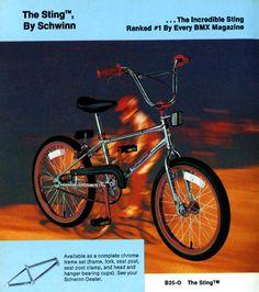 1980 Schwinn Sting BMX Bicycle