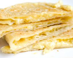 What makes these Vegan Quesadillas different? They're oozing with Homemade Coconut Milk Cheddar.