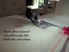 DIY: Pussukka tuplavetoketjulla - Punatukka ja kaksi karhua Sewing Patterns, Crafts, Bags, Totes, Handbags, Manualidades, Handmade Crafts, Patron De Couture, Craft