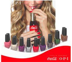MANI MONDAY: OPI x Coca Cola Nail Polish Collaboration