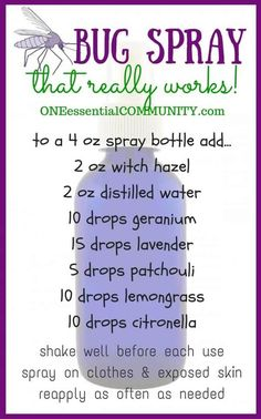 DIY Bug Spray that works! {kid safe options} kid-safe and effective DIY bug spray recipes using essential oils-- includes FREE PRINTABLES for recipes, charts, and bottle labels! Essential Oil Spray, Doterra Essential Oils, Essential Oil Blends, Diy With Essential Oils, Mosquito Repellent Essential Oils, Essential Ouls, Patchouli Essential Oil, Young Living Oils, Young Living Essential Oils