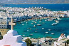 Mykonos (Grecia): el blanco más cool del Mediterráneo