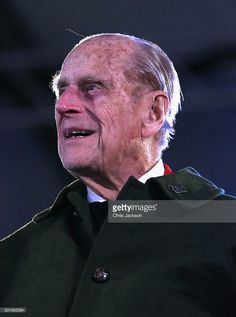Prince Philip Duke Of Edinburgh Attends The Final Night Queen Elizabeth IIs Birthday Celebrations At Windsor On May 2016 In England