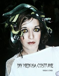 """diy medusa costume           Teach Me: How to Make Lace Crowns    Last week I showed you an easy way to """" glitterify .""""  Now I'm going to show you how to make the crown that all the glitter...           Dollar Tree Blue Mercury Glass      When I saw a challenge at The CSI Project  to create something with items from the dollar store, I knew"""