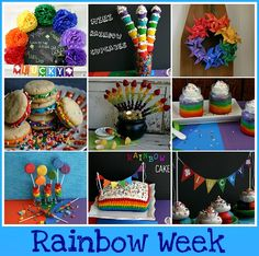 Rainbow  ideas!