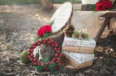Rustic Pinecone Wedding Decorations