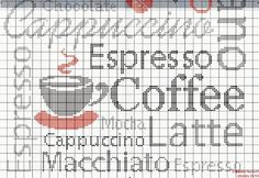 cappuccino cross stitch