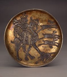 Dish: Sassanian Iran
