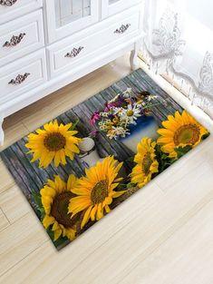 Geometric Pattern Anti-Slip Door Mat Entrance Rug Kitchen Bathroom Carpet Comely
