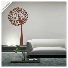 Shoply.com -Bird in tree wall sticker - (unweeded and application tape provided). Only £14.99