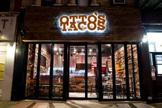 Otto's Tacos  |  East Village 141 Second Ave. near East Ninth Street