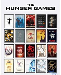 The Hunger Games posters at Victor Miguel via Sims 4 Updates