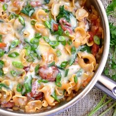 Creamy Sausage & Pasta- make with chicken instead of sausage